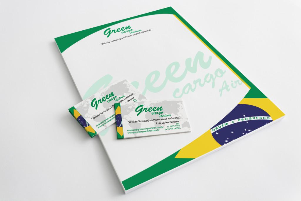 Green Cargo Timbrado e Cartões